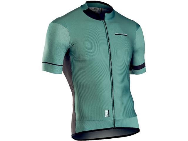Northwave Airout Bike Jersey Shortsleeve Men green/black